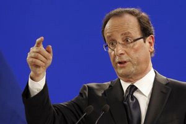 Hollande má podľa prieskumov najväčšie šance stať sa francúzskym prezidentom.