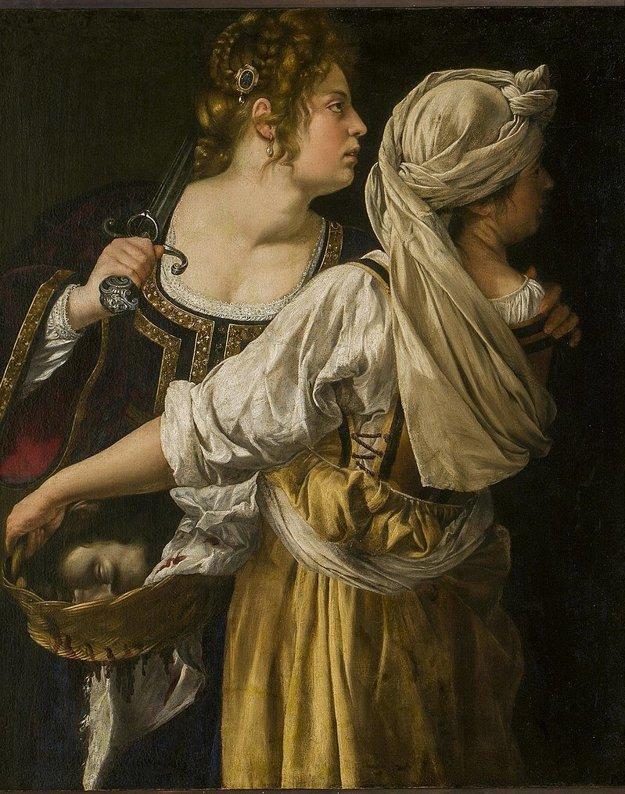 Judita so svojou slúžkou