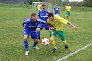 V dohrávke Vasiľova (v modrom) s Pribišom (v žltom) sa zrodil jednoznačný výsledok.