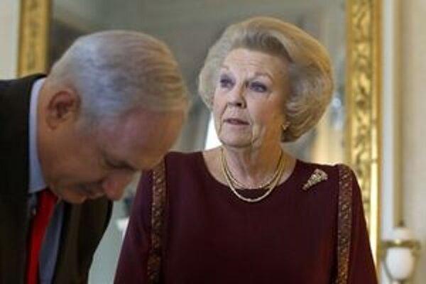 Kráľovná Beatrix.