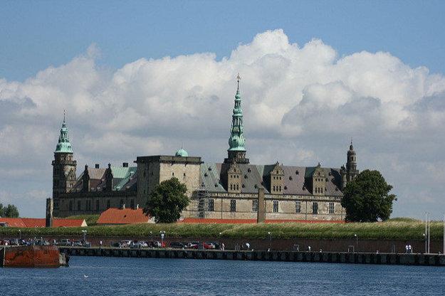 Hrad Kronborg neďaleko Kodane.