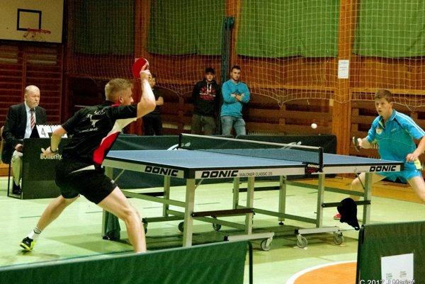 Stolní tenisti Valče si poradili s Ružomberkom.