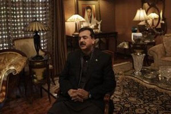 Pakistanský premiér Júsuf Razá Gílání.