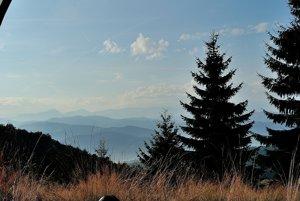 Pohľad zVojtovského vrchu.