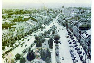 Centrum Prešova kedysi.