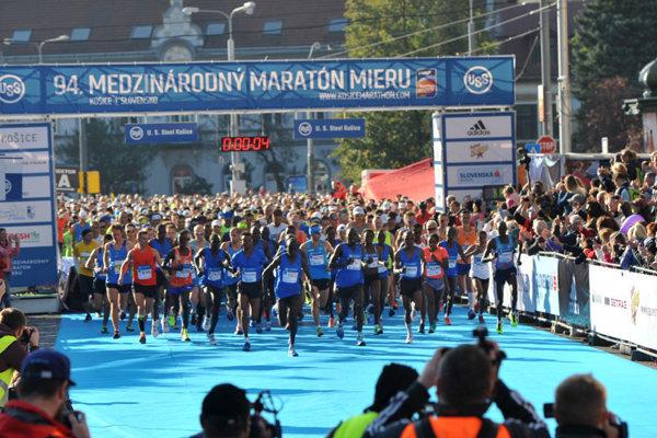 Medzi najlepšími. Košický maratón získal výborné vysvedčenie.