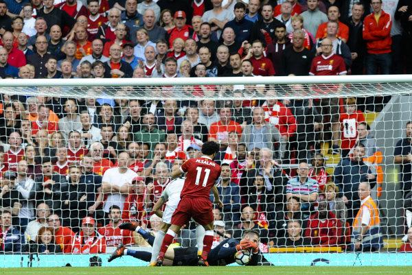 Ilustračná fotografia zo zápasu Liverpool FC - Manchester United.