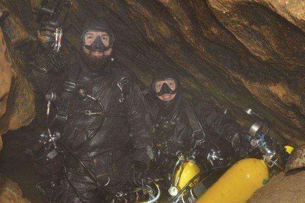Michal Ševeček a Zuzana Schusterová sa postarali o prevratný objav. Našli suché pokračovanie jaskyne Teplica.