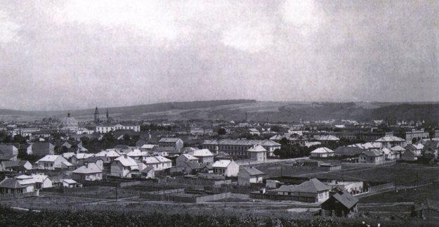 Pohľad na južnú časť mesta Košíc.