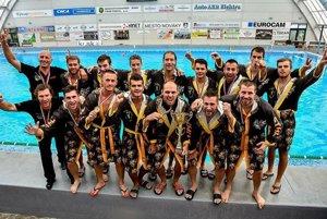 Víťazi Slovenského pohára 2017 ŠK Hornets Košice.