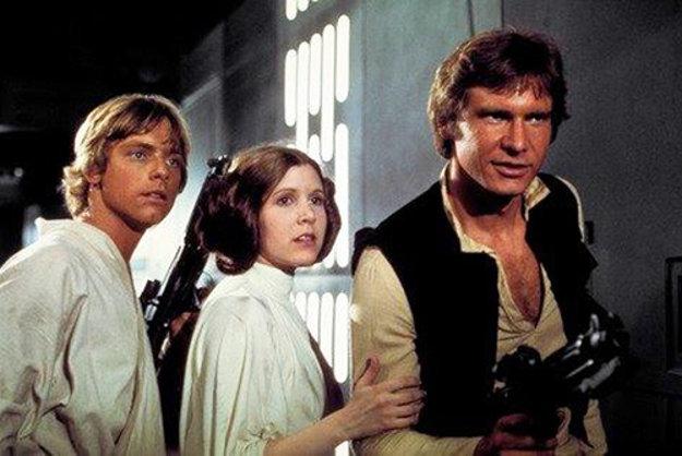 Ako legendárna princezná Leia v ságe Hviezdne vojny