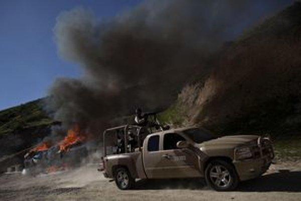 Drogová vojna v Mexiku si vyžiadala už desaťtisíce obetí.