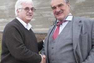 S Karlom Schwarzenbergom na Sonberku.