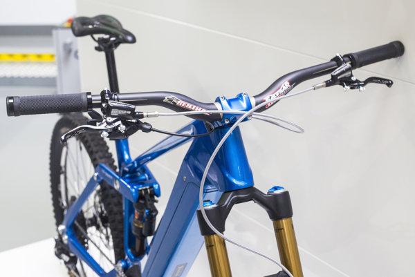 3D tlačený horský e-bike