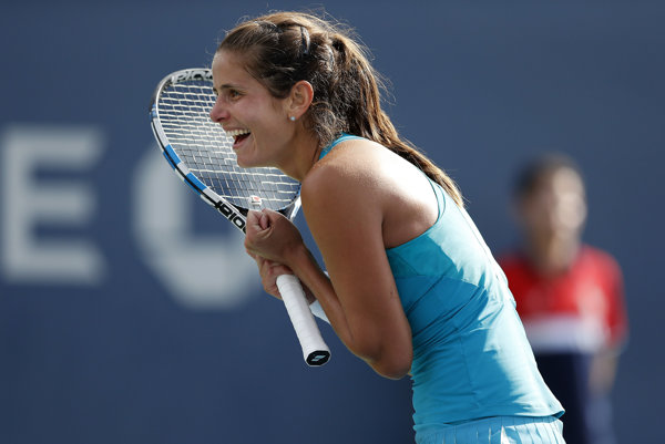 Nemecká tenistka Julia Görgesová.