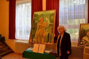 Jana Kušnierová aobraz Psyché.
