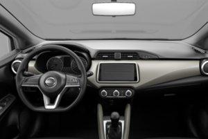 Interiér Nissanu Micra v najnižšej výbave za 9 690 eur.