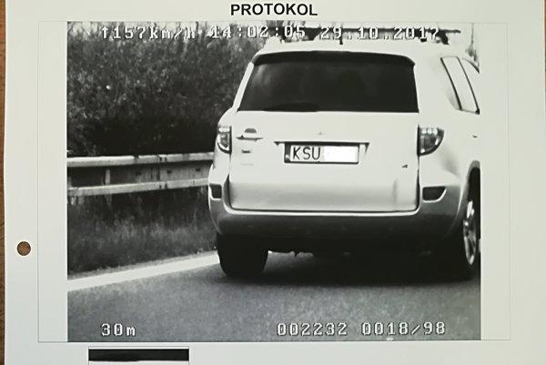 Poľský šofér prekročil rýchlosť a bol opitý.