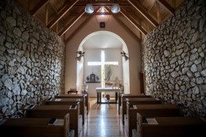 Kaplnka v hospici Dom pokoja a zmieru u Bernadetky v Nitre.