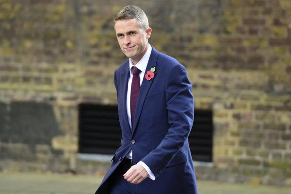 Nový britský minister obrany Gavin Williamson.