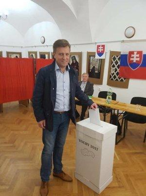 Kandidát na župana Andrej Gmitter.
