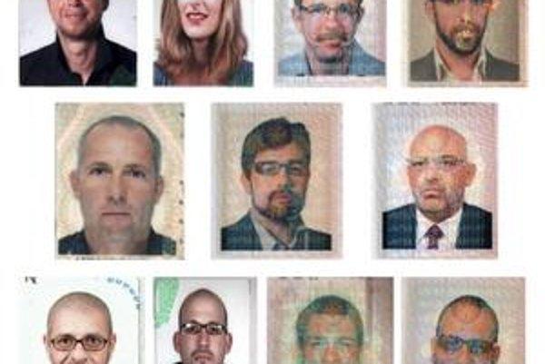 Hľadaní agenti s európskymi pasmi.