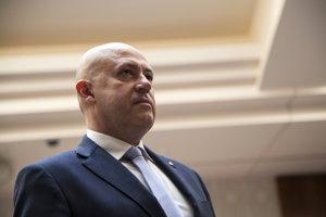 Anton Siekel počas volieb za predsedu Slovenského olympijského výboru.