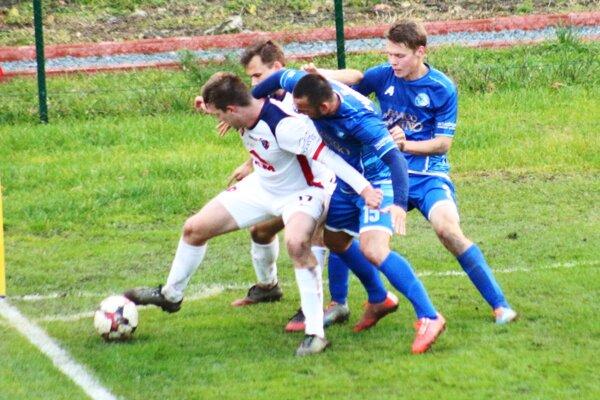 Momentka z víťazného zápasu MFK Zvolen proti Lokomotíve Košice