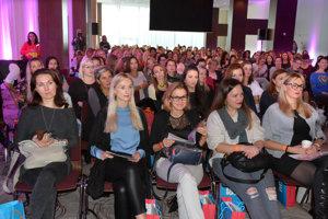 Najviac žien na meter štvorcový. Konferencia zaujala ženy z celého východu.