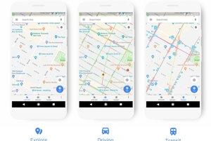 Zobrazenie v Google Mapách sa prispôsobí tomu čo potrebujete.