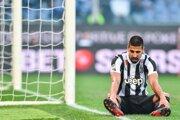 Hráči Juventusu nestačili na Sampdoriu.
