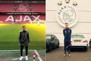 Mladík vo veľkom svete. Navštívil aj Amsterdam Arenu s kapacitou 54-tisíc divákov.