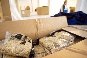 Tento rok prebehli štyri kolá odovzdávania potravinovej pomoci.