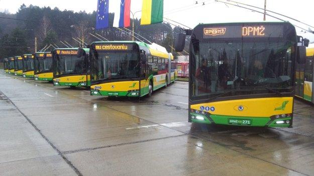 DPMŽ ukázal desať z pätnástich vozidiel. Ďalšie pribudnú na cesty do konca roka.