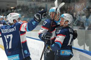 Hokejisti HK Nitra potvrdili úlohu favorita.