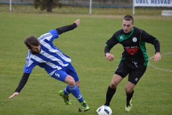 V zápase Nesvady - Okoličná sa hralo bez gólov.