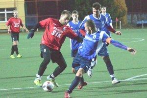 Turčianska Štiavnička prekvapivo zakopla v derby proti Sučanom.