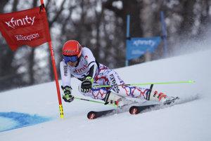 Petra Vlhová zašla v prvom kole solídnu jazdu.