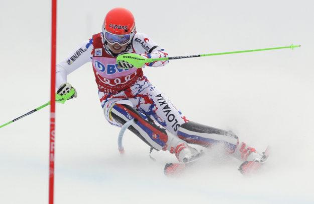 Petra Vlhová predviedla opäť skvelé výkony.