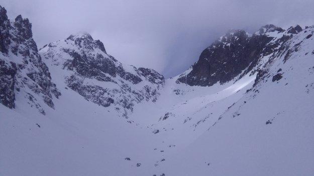 Sedielko, cez ktoré prejdete z Malej studenej doliny do Javorovej doliny.