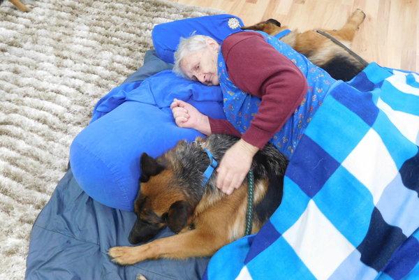 tvornohý terapeuti svojím pôsobením povzbudzujú starých ľudí ktelesnej aj duševnej aktivite.