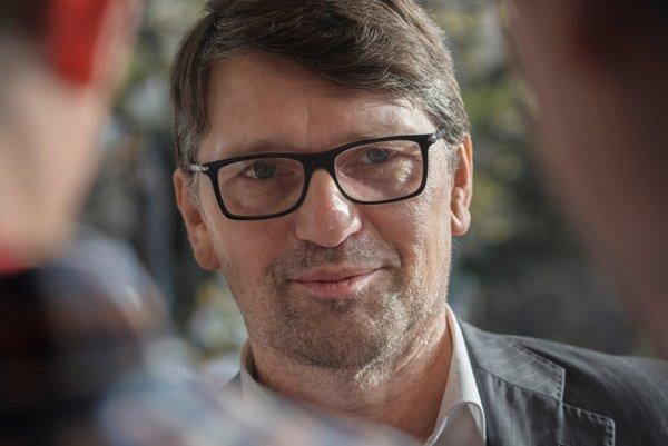 Marek Maďarič, minister kultúry.