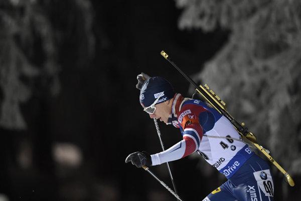 Nór Johannes Thingnes Boe triumfoval v 1. kole Svetového pohára v biatlone.