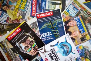 News & Media Holding vydáva denník Plus 1 deň či týždenníky Plus 7 dní a Trend.