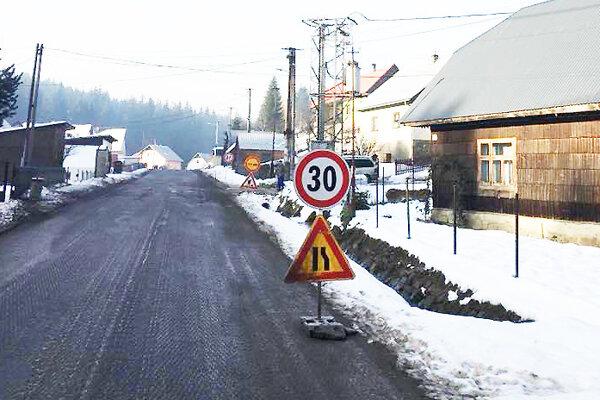 Obmedzenie dopravy vOravskej Lesnej skončí až na jar.