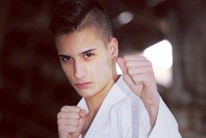 Pavol Bitto, reprezentant v karate.
