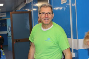 Správca štadióna Giovanni Generoso.