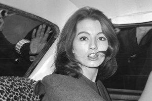 Christine Keelerová na snímke z júna 1963.