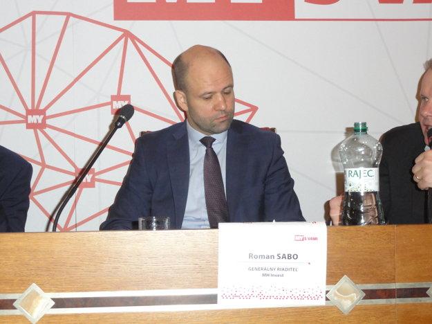 Roman Sabo, generálny riaditeľ MH Invest.