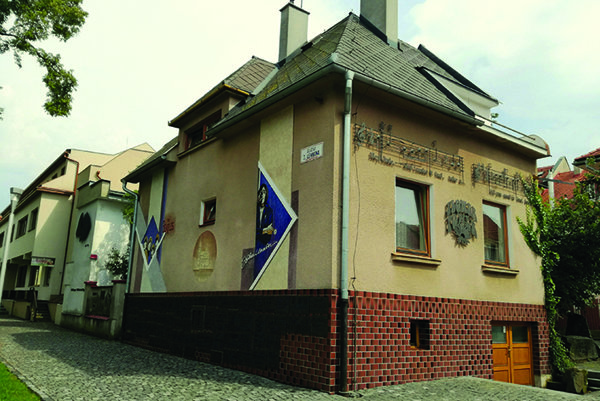 """Beatles"" dom Pavla Zajaca v Bardejove."
